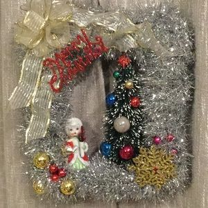 WALL ART - OOAK CHRISTMAS - MADE BY ME!